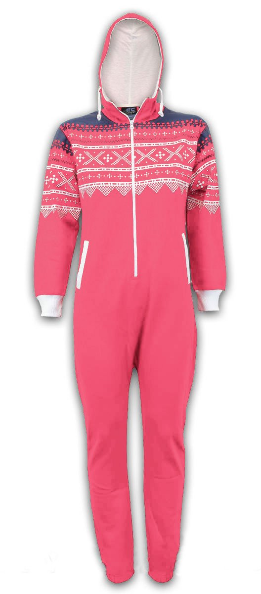 GG Girls Stacy Kids Boys Hooded All in One Jumpsuit Onesie