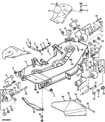 John Deere Mower Belt M112269 425 445 455 54 Inch Decks