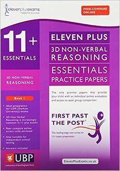 11 Essentials: 3D Diagrams, NonVerbal Reasoning