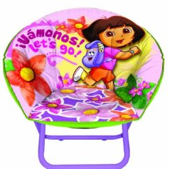 Saucer Chair For Kids Office Jakarta Nickelodeon Dora The Explorer Toddler Epic Toys