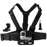 CamKix-Chest-Mount-Harness-for-GoPro-Adjustable-Chest-Strap-Compatible-with-GoPro-Hero4-Hero3-Hero3-Hero2-and-Hero-Camera-Also-Includes-1-J-Hook-1-Thumbscrew-1-CamKix-Drawstring-Storage-Bag