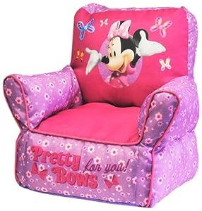 minnie mouse bean bag chair high heel cheap amazon.com: disney sofa chair: toys & games