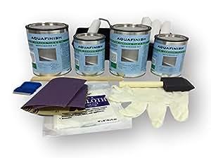 AquaFinish Bathtub And Tile Refinishing Double Kit Amazon