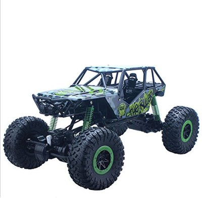 VISTON-24GHz-RC-Car-Rock-Crawlers-4WD-off-Road-Driving-Car-110-Scale-RC-Monster-Truck-Green
