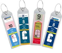 Cruise Luggage Tag Holder Zip Seal & Steel - Royal ...