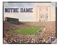 Notre Dame Fighting Irish Glory 28 x 22 Canvas Wall Art ...