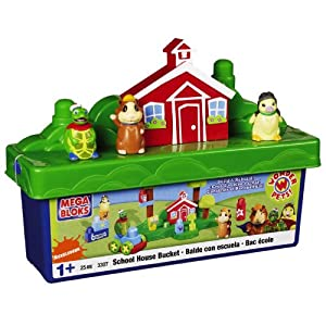 Mega Bloks Wonder Pets School House Bucket