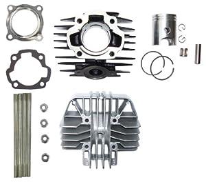 Amazon.com: YAMAHA PW 80 PW80 Cylinder Gasket Piston Ring