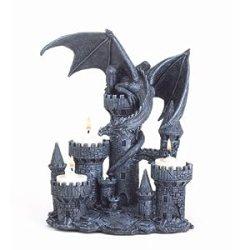Cheap! Gifts & Decor Dragon Candleholder Medieval Castle Magic Myth Fantasy Tea Light Holders ^ ^ New Candleholders