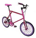 MIXIE Crisscross Hardcandy Mixed Gear Bike, 17-Inch/One Size, Pink