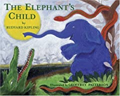 """Cover of """"The Elephant's Child"""""""