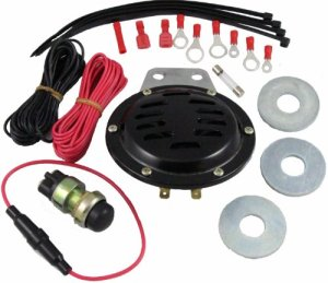 Comparamus  Universal Golf Cart 12 Volt Horn Kit | EZGO