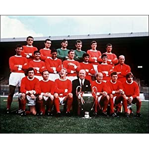 Photographic Prints of Manchester United 1968 from Mirror Photos