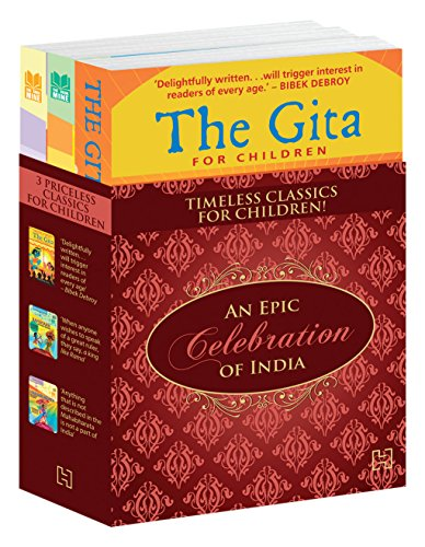 An Epic Celebration of India: Triple Pack of The Gita, The Mahabharata and The Ramayana for Children
