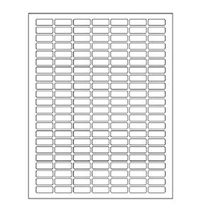 Amazon.com : White Rectangular Labels + Bonus color labels