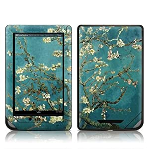 Van Gogh - Blossoming Almond Tree Design Protective Decal Skin Sticker for Barnes and Noble NOOK COLOR E-Book Reader