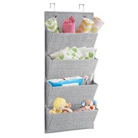 Hanging Wall Shelves Over the Door Fabric Storage Baby ...