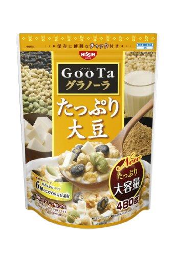 日清シスコ GooTaグラノーラたっぷり大豆 480g