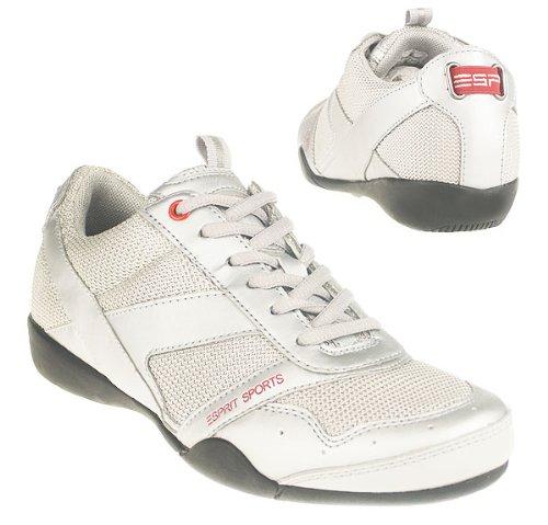 Esprit Sports Sneaker Damen Sportschuh silber Gr.38