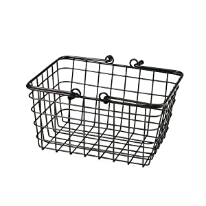 Spectrum 43076 Small Wire Basket Cool, Grey: Amazon.co.uk