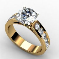 1.45 CT DIAMOND PROMISE SOLITIARE ENGAGEMENT RINGS 14k ...