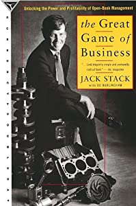 """Cover of """"The Great Game of Business"""""""