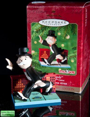 Hallmark Keepsake Ornament - Mr. Monopoly 2000 (QX8101)