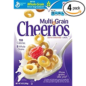Cheerios MultiGrain Cereal, 16.2-Ounce Box