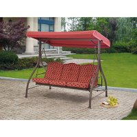@@ Lowes Outdoor 3 Triple Seater Hammock Swing Glider ...