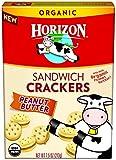 Horizon Organic Sandwich Crackers, Peanut Butter, 7.5 Ounce