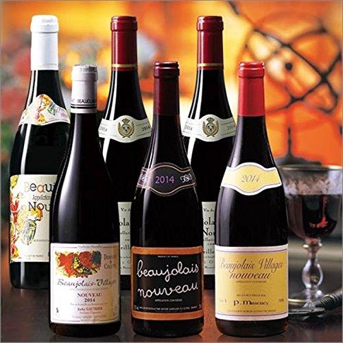 My Wine CLUB 【ネット限定】ボジョレー・ヌーヴォー6種6本セット  750ml×6本