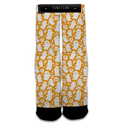Function - Halloween Ghost All Over Print Sock