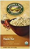 Nature's Path Organic Instant Hot Oatmeal, Maple Nut, 8-Count Boxes (Pack of 6)