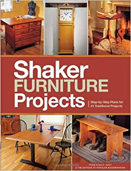 shaker furniture plans