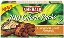 EMERALD CINNAMON ROAST ALMONDS 100 CALORIE PACKS 4PACK
