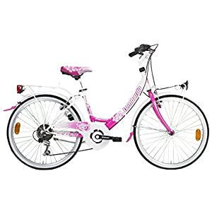 Amazon.com : Lombardo Rimini City Bike, 24 inch Wheels