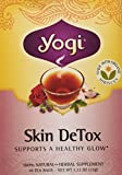 Yogi Organic Herbal Skin Detox 16 TEA BAGS-NET WT 1.12OZ