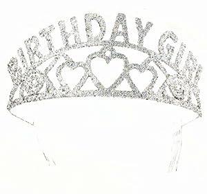 Amazon.com: Forum Novelties Glitter Tiara Birthday Girl