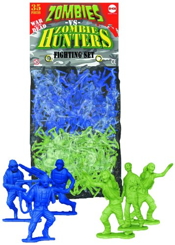 Zombies vs. Zombie Hunters Plastic Figure 35 Count Bag