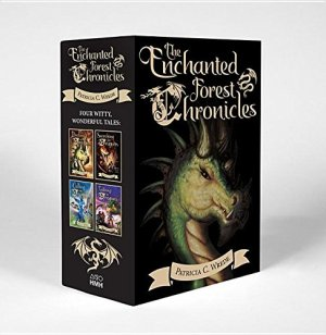 The Enchanted Forest Chronicles: (Boxed Set) by Patricia C. Wrede | Featured Book of the Day | wearewordnerds.com