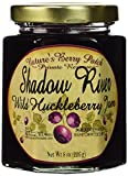 Shadow River Wild Huckleberry Gourmet Jam 8 oz Jar