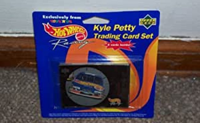 Amazon Hot Wheels Kyle Petty Trading Card Set 5 Cards