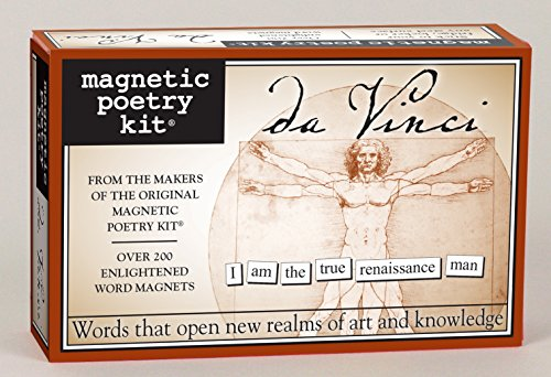 Magnetic Poetry - da Vinci Kit - Words for Refrigerator - Write Poems and Letters on the Fridge