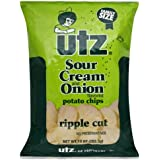 UTZ Potato Chips Family Size Bags 95 Oz Case of 12 Sour