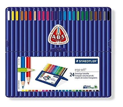 Staedtler ergo soft 157 SB24 - Caja de lápices de , color es (24 unidades)