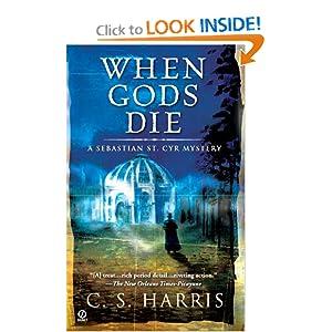When Gods Die: A Sebastian St. Cyr Mystery