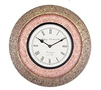 Buy Universal Art Traditional Wall clock with Brass and ...