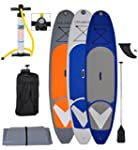 Vilano Navigator 10' Inflatable SUP Stand Up Paddle Board Package