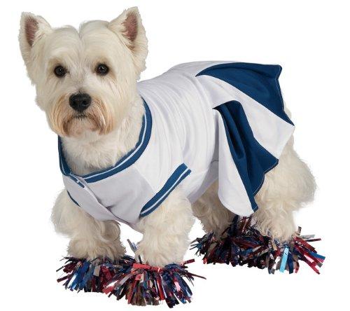 Deluxe Cheerleader Medium Pet Costume