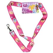 Disney Princess Lanyards (12 Count) Party Favor Keychain Holder for Mp3, Cellphones